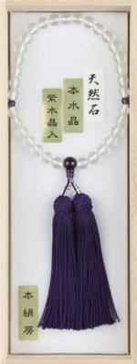 •水晶 紫水晶仕立